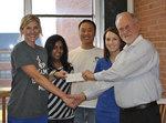11-11-2013 SWOSU Pharmacy Org Raises Over $1,000 for Agape Clinic
