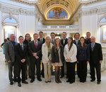 02-21-2014 SWOSU PLC Members Visit Legislators at Higher Ed Day by Southwestern Oklahoma State University