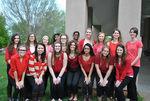 04-24-2015 SWOSU Pharmacy Fraternities Assist with Senior Citizen Center 25th Anniversary Celebration 2 by Southwestern Oklahoma State University