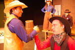 04-08-2016 Dirty Dan and Pecos Bill Wrestle in Upcoming SWOSU Production by Southwestern Oklahoma State University