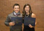04-28-2016 SWOSU Biology Honors Majors at Banquet 3/4 by Southwestern Oklahoma State University