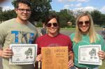 09-01-2016 Burke & Patton Named Greek Man & Woman of Year at SWOSU by Southwestern Oklahoma State University