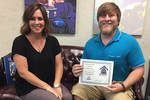 10-31-2016 Barr Named October Dawg of the Month at SWOSU by Southwestern Oklahoma State University