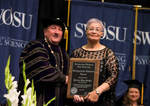 05-08-2017 Five Inducted into SWOSU Distinguished Alumni Hall of Fame 5/5 by Southwestern Oklahoma State University
