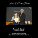 2018 Scholar Rebekah Bowers by The DaVinci Institute