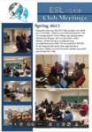 SWOSU ESL Club Newsletter: Spring 2017