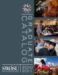 Graduate Catalog 2010-2011