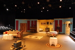 Hedda Gabler, Scenery by Hilltop Theater