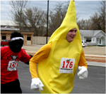Costumed 5K Runners 2010