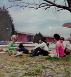 Students Outdoors 1970