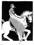 """""""Glorfindel"""" (Issue 9, p.18) by Annette Harper"""