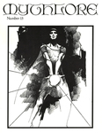 """Front Cover: """"Feanor with Palantir"""", Issue 15"""