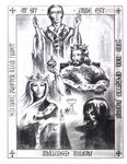 "Illustration of ""Taliessin through Logres"" (Issue 15, p.8)"