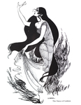 """""""The Dance of Luthien"""" (Issue 16, p.22)"""