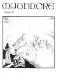 """Front Cover: """"Mandos giving the Doom of the Noldor"""" (Issue 17)"""