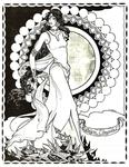 Back Cover: Lúthien Tinúviel, Issue 22