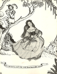 """Back Cover: """"and I am born, and free, and dancing in the sun"""", Issue 23"""