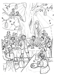 Bilbo's Birthday Party (Issue 24, p.33)
