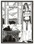 "Back Cover: ""Berúthiel"", Issue 26"
