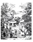 """Aslan's Resurrection"" (Issue 28, p.31)"