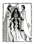 "Back Cover: ""Marriage of Aragorn and Arwen"", Issue 28"