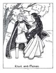 """Elwë and Melian"" (Issue 29, p.24)"