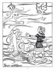 """""""Tuor and Ulmo"""" (Issue 29, p.35)"""