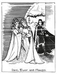 "Back Cover: ""Idril, Tuor, and Maeglin"", Issue 30"