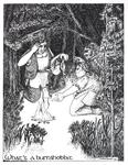 """""""What's a burrahobbit"""" [sic], (Issue 47, p. 49) by Sarah Beach"""