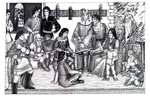 """Center Spread: """"The Council of Elrond"""",  Issue 48"""