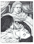 """Thingol and Melian Mourn the Loss of Lúthien"", Issue 48"