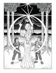 """""""The Mirror of Galadriel"""", (Issue 69, p. 26) by Sarah Beach"""