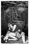 """Túrin Finds Níniel at Haudh-en-Elleth"", (Issue 63, p. 34-35) by Paula DiSante"