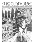 """Front Cover: """"Frodo encounters the Shirriff at Frogmorton"""", Issue 57 by Paula DiSante"""