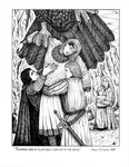 """Back Cover: """"The Death of Glorfindel"""", Issue 60 by Paula DiSante"""