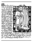 """Back Cover: """"The Marriage of Tuor and Idril"""", Issue 61 by Tom Loback"""