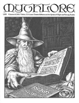 """Front Cover: """"Gandalf at the Library of Minas Tirith"""", Issue 62 by Patrick Wynne"""