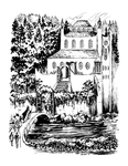"""""""Rivendell"""", (Issue 72, p. 15) by Bernie Zuber"""