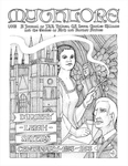 """Front Cover: """"The Dorothy L. Sayers Centenary"""", Issue 73 by Nancy-Lou Patterson"""