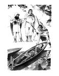 """The Departure of Boromir"", (Issue 73, p. 35) by Denis Gordeyev"