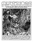 """Front Cover: """"Melkor and Ungoliant"""", Issue 75 by Patrick Wynne"""