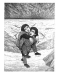 """Back Cover: """"I Said I'd Carry Him ... and I Will"""", Issue 75 by Paula DiSante"""