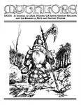 """Front Cover: """"Warrior Dwarf of the Iron Mountains"""", Issue 79 by Stephan Peregrine"""