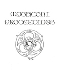 Front Cover: Mythcon I Proceedings by Paula Marmor