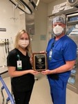 Robie Harrington - Distinguished Clinical Preceptor Award by Southwestern Oklahoma State University