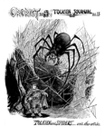 "Front Cover: ""Tolkien and Spiders"", Issue 13 by Peter Poplaski"