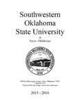 Sayre: Undergraduate Catalog 2015-2016 by Southwestern Oklahoma State University