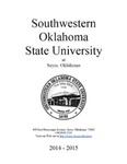 Sayre: Undergraduate Catalog 2014-2015 by Southwestern Oklahoma State University