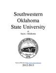 Sayre: Undergraduate Catalog 2012-2013 by Southwestern Oklahoma State University
