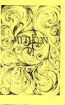 Mythcon 6 Program Cover by Bruce McMenomy and Bonnie GoodKnight
